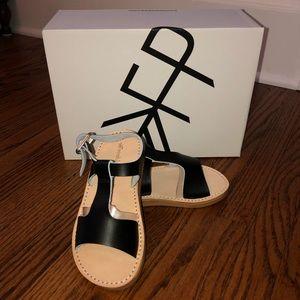 Freshly Picked Ebony Malibu Sandals